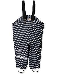 CareTec Pantalones Impermeable Unisex Niños, Azul (Weiss 100), 80
