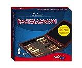 Noris 606108004 - Deluxe Reisespiel Backgammon, Spieleklassiker