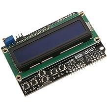 LCD 1602 16x2 2x16 Teclado Escudo Para Arduino Duemilanove Mega-uno