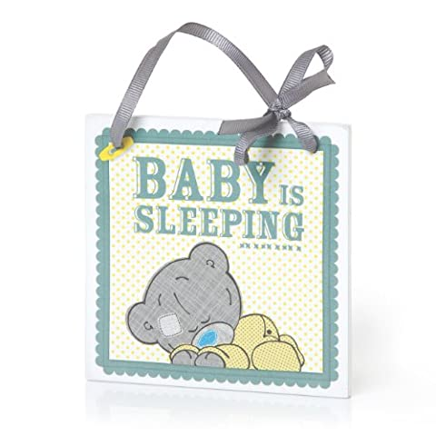 Me to You 1-Piece Tiny Tatty Teddy Baby is Sleeping Plaque