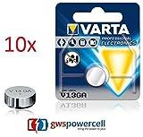 GWS-POWERCELL® VARTA PROFESSIONAL ELECTRONICS V13GA jeweils im Einzelblister verpackt / NEU & OVP (V13GA, 10 Stück)