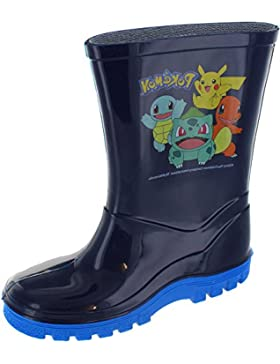 Pokemon Niño Botas agua Gomilla