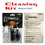 #10: RiaTech™ Digital 4 in 1 Cleaning Set for DSLR Cameras and Sensitive Electronics (Canon, Nikon, Pentax, Sony)