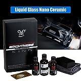 sweetlife Auto Keramik Kit, 9H Auto Liquid Glas Nano Fluor Versilbert Kristall Keramik Kit-Long dauerhafte und Tief glänzend