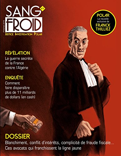 Revue Sang froid 1: Justice Investigation Polar