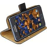 Mumbi - Funda de cuero estilo libro para Samsung Galaxy S2 i9100