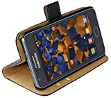mumbi Tasche im Bookstyle für Samsung Galaxy S2 i9100 Tasche