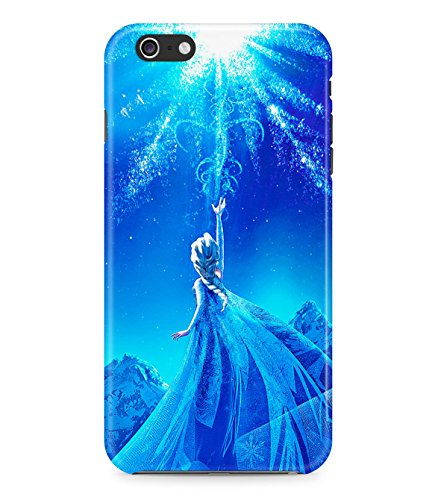 Frozen Princess Elsa Hard Plastic Snap On Back Case Cover For Iphone 6 Plus Custodia