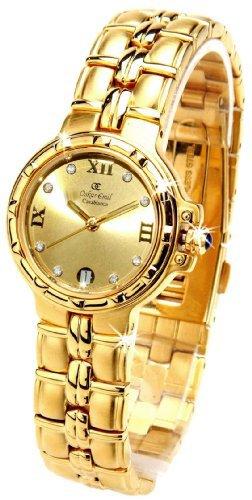 Oskar Emil Casablanca 302L Womens 23ct Gold Plated Watch