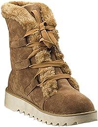 bottes de neige femme : Chaussures et Sacs