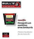 Bull's Levelfix Messgerät, 1 Stück., Schwarz/Grün/Rot/Weiß, 1