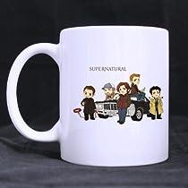 Mug(Tasses à café) for U supernatural cartoon Custom White Mug(Tasses à café)