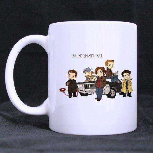 Mug(Tasses à café) for U supernatural cartoon Custom White Mug(Tasses à café), Mugs