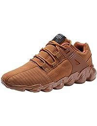 Zapatillas para Hombre,Zapatos de Seguridad para Hombre con Puntera de Acero, Zapatillas de Seguridad Trabajo, Calzado de Industrial y Deportiva