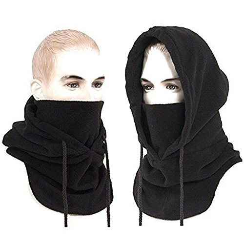 StillCool Winddichte Ski maske Balaclava Warm Winddichte Sports Mask Hals wärmer Gesicht Maske Winter Ski Unisex staubdicht & Wind Beweis Face Mask for Snowboarding, Motorcycling & Outdoor Sports (schwarz)