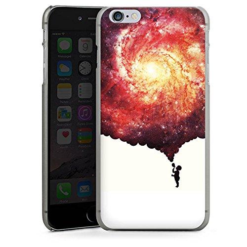 Apple iPhone X Silikon Hülle Case Schutzhülle Universum Seifenblasen Kind Hard Case anthrazit-klar
