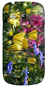Timpax protective Armor Hard Bumper Back Case Cover. Multicolor printed on 3 Dimensional case with latest & finest graphic design art. Compatible with Samsung S-3Mini - I8190 Galaxy S III mini Design No : TDZ-27540