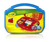 Crayola 04-2704 - Maletín portátil todo en uno, colores surtidos
