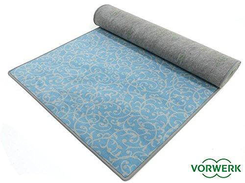Bijou Royal - Der Vorwerk Teppich Läufer von HEVO ® in Türkis 080x400 cm Sonderedition