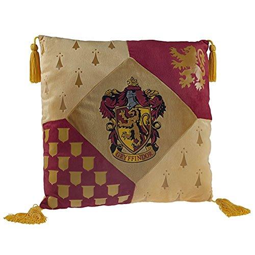 La casa gryffindorcon cojín Harry Potter Producto Oficial de Warner Bros, Studio Tour negro de Londres
