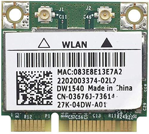 300 Mbps, kabellos, Karte 2.4G/5G, Dual-Band, WLAN, Karte mit 2 Schrauben, ohne Schnittstelle für Büro/Mini Maschine, Mini Slot, grün -