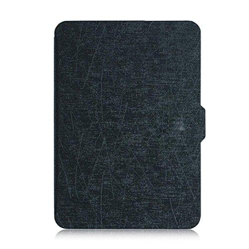 Für 2016Kindle Paperwhite (7. Generation) Fall, bzline® Magnetische Auto-Sleep PU Leder Schutzhülle für 2016Kindle Paperwhite (7. Generation) 15,2cm + Geschenk mehrfarbig schwarz Fire Hd 6 Kindle-fall