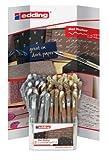 edding 4-50926 Gel Roller Display Crystaljelly 2185