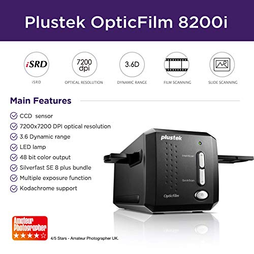 Plustek OpticFilm 8200i SE 35mm Dia/Neg...
