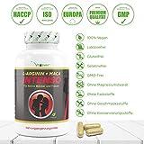 L-Arginin + Maca Intenso 240 Kapseln, 5800mg Tagesdosierung, Hochdosierte Formel für den aktiven Mann und Frau, 60 Tage Anwendung, 100% Vegan, Vit4ever - 3