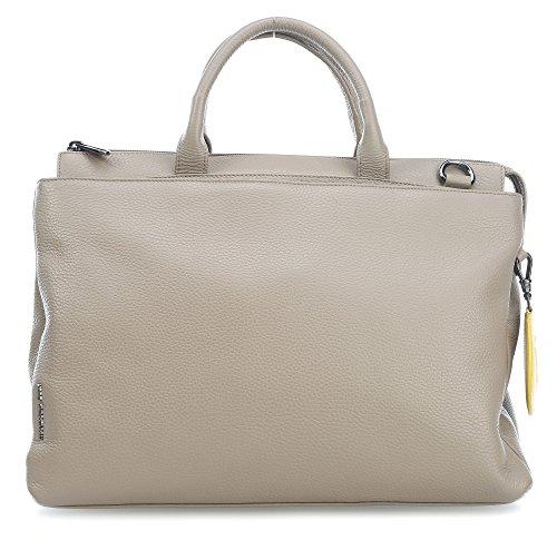 Mandarina Duck - Mellow Leather Tracolla, Borsa a mano Donna Grau (SIMPLY TAUPE)