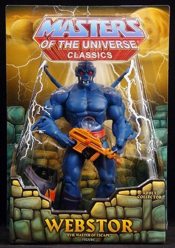 He-Man Masters of the Universe Classics Exclusive Action Figure Webstor