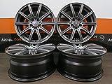 4 Alufelgen KESKIN KT16 18 Zoll passend für Mercedes A 176 AMG B C 20CLA CL E 212 GLK GLA S Vito NEU
