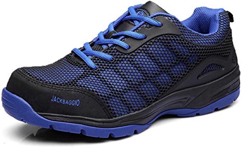 Zapatos De Senderismo Hombres Impermeables De Cuero Ligero Respirable Informal De Seguridad Zapatos De Protección  -