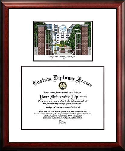 Campus Images GA973V Georgia State University Diplom-Bilderrahmen, 35,6 x 43,2 cm