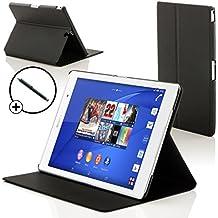 """Forefront Cases® Nueva Funda Case Cover Protectora Plegable para Sony Xperia Z3 8.0 Tablet Compact 8"""" – Función automática inteligente de Suspensión/Encendido + Lápiz óptico"""
