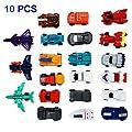 XuBa 10 Teile / Satz Transformation Autos Kinder Klassische Roboter Auto Spielzeug Action & Spielzeugfiguren Bildung Spielzeug von XuBa