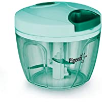 Pigeon by Stovekraft Large Handy and Compact Chopper with 3 blades for effortlessly chopping vegetables and fruits for…