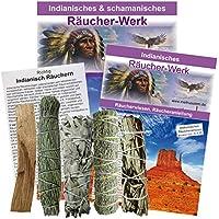 Räuchern 6-tlg. Räucherset indianisch schamanische Pueblo Smudge Kräuterbündel #81038 | White Sage, Präriebeifuß... preisvergleich bei billige-tabletten.eu
