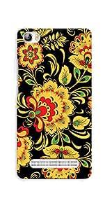Kaira High Quality Printed Designer Back Case Cover For Xolo Era 4G(yellowflower)