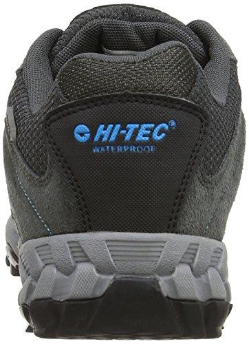 Hi-Tec Sensor Wp, Randonnée Basses Homme Grau (Charcoal/Black/Prussian 052)