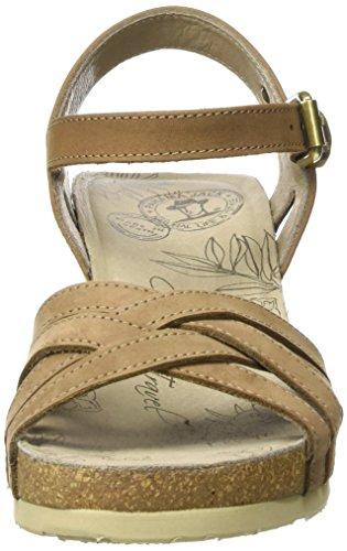 Panama Jack Vera Basics, Sandales Compensées Femme Marron (taupe)