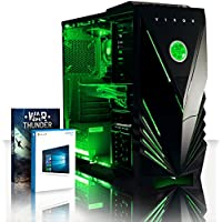 VIBOX Nemesis 15 Gaming PC Computer with War Thunder Game Voucher, Windows 10 OS (4.2GHz Intel i7 Quad-Core Processor, Nvidia GeForce GTX 1060 Graphics Card, 16GB DDR4 2133MHz RAM, 1TB HDD)