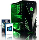 VIBOX Gaming PC - Spark 9 - 4.2GHz AMD FX 8-Core CPU, Geforce GTX 1060, VR Ready, Extreme, High Performance, Super Fast, Desktop Computer with Game Bundle, Windows 10 OS, Green Internal Lighting and Lifetime Warranty* (Super Fast AMD FX 8300 Eight 8-Core CPU Processor, Nvidia GeForce GTX 1060 3GB Graphics Card, 16GB DDR3 1600MHz High Speed RAM Memory, 2TB (2000GB) Sata III 7200rpm Hard Drive HDD, 85+ Rated PSU Power Supply, Vibox Predator Green LED Gaming Case, AM3+ Motherboard)