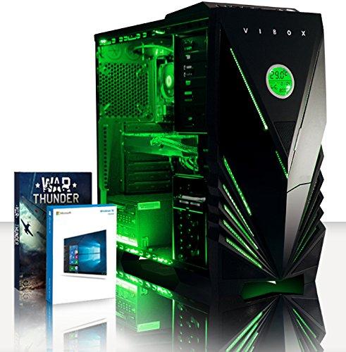Foto Vibox Spark 7 PC da Gaming, Processore AMD FX 6350 Sei-Core, RAM 16GB, HDD da...