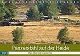 Panzerstahl auf der Heide - Das Heer legt wieder los (Tischkalender 2019 DIN A5 quer): Leopard 2 Panzer (Monatskalender, 14 Seiten ) (CALVENDO Technologie)