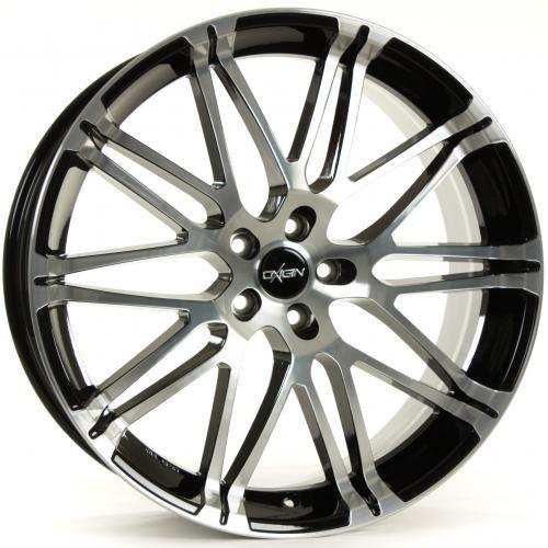 OXIGIN 14 Oxrock black full polish 8,5x20 ET45 5.00x112.00 Hub Bore 72.60 mm - Alu felgen
