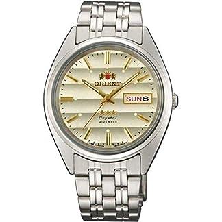 Orient Reloj Analógico para Unisex Adultos de Automático con Correa en Acero Inoxidable FAB0000DC9