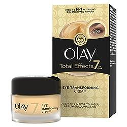 Olay Total Effects 7-in-1 Eye Transforming Moisturiser Cream, 15ml