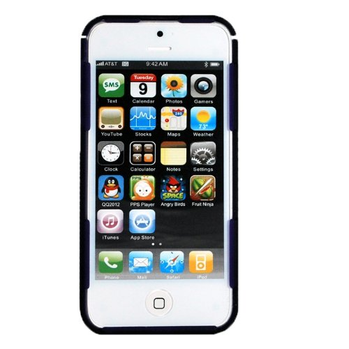 Nite IZE CNT-IP5-23TC Connect Case für Apple iPhone 5 lila-transparent - Nite Ize Iphone