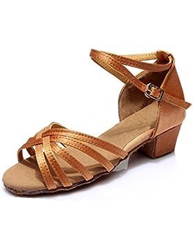 KAIRRY latino scarpe pratica scarpe ( Color : Deep color , Dimensione : 39 )